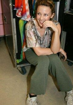 Kylie Backstage
