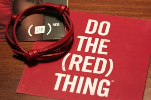 DO THE (RED) THING