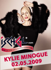 Kylie Minogue - Top of The Mountain Concert