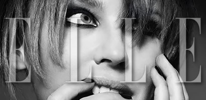 Behind The Elle Cover Shoot
