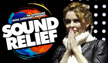 Kylie at Sound Relief